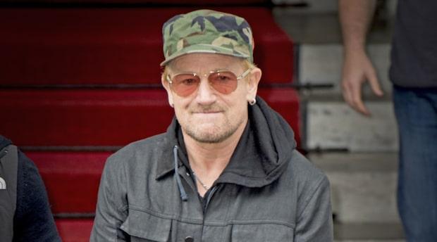 Världsstjärnan Bono nära att dö