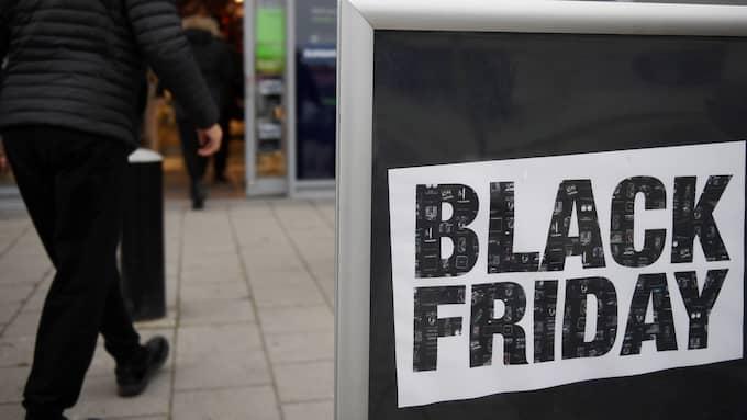 Black Friday har växt sig stort, framför allt för elektronikkedjorna. Foto: Henrik Montgomery / TT NYHETSBYRÅN