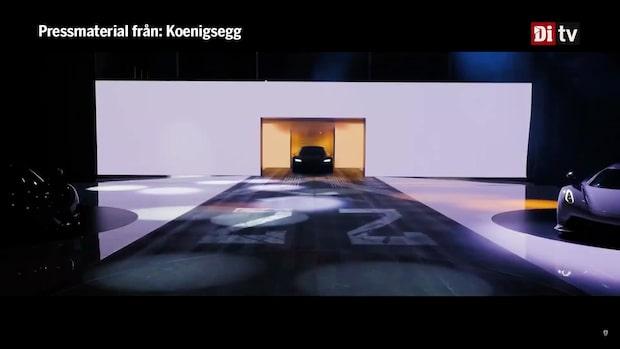 Här visar Koenigsegg upp sina nya bilar i Genève