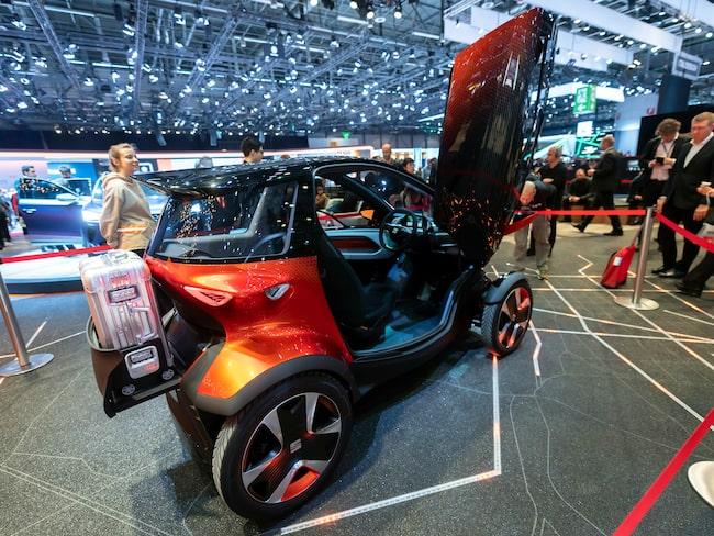 Seat presenterade på bilsalongen i Genève ett nytt fordon byggt för bildelning.