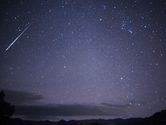 "<span>Den aktuella metersvärmen kallas Orioniderna då den ser ut att komma från stjärnbilden Orion.</span> <span>FOTO: <a href=""https://www.flickr.com/photos/ikewinski/8106388070/in/photolist-dmkmKy-dmtRAu-dmHoEm-dmHn4R-79ndzC-gWXsXB-aypj8x-dn4hyY-gWWrfo-aypikv-dn2rLF-dkwyZb-A6g8Hi-79DQUk-79eBJi-79dawi-79d9Kn-A3XTFY-79db1H-79d91D-79gZph-aypgNR-dmzun3-79d7SV-79bnW6-aypk2T-aypk9X-aypjMD-ayrZBq-dmzucd-dmzuAo-ays2fE-dmzsCZ-dmzssc-dn6EgZ-qB4E7j-dm55Jt-dmyDSi-dmyCWH-dmyBYk-dmyAQM-dmyzYK-dmyAof-dmyxeT-dVfdxg-dmzuJU-dmzrBD-dnGPm9-dmrnKG-793uCZ"" target=""_blank"">Mike Lewinski/Flickr</a></span>"