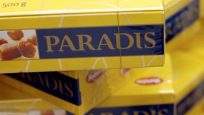 Paradisasken har funnits i 60 år. Men i årets ask har ett misstag följt med. Foto: PETER KROON