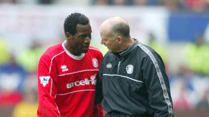 Ugo Ehiogu under tiden i Middlesbrough. Foto: Martin Rickett / AP PA