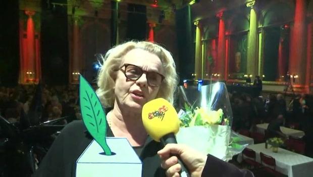 """Marie Göranzon vinner teaterpriset """"En bit av Georgs hatt"""""""
