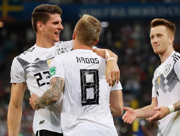 Se alla VM-mål i sportnyheterna - 23 juni