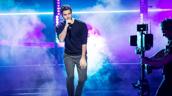 """I oktober förra året uppträdde Darin under """"Idol"""". Foto: OLLE SPORRONG"""