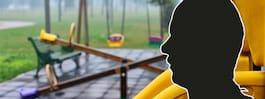 Barn antastat på lekplats – hotade personal till livet