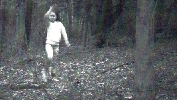 Mystiska bilden som fick folk att ropa spöke