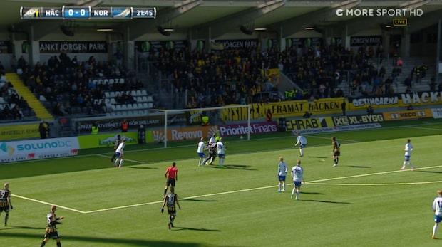 """""""Crespo"""" Kamara gör 1-0 till Häcken"""
