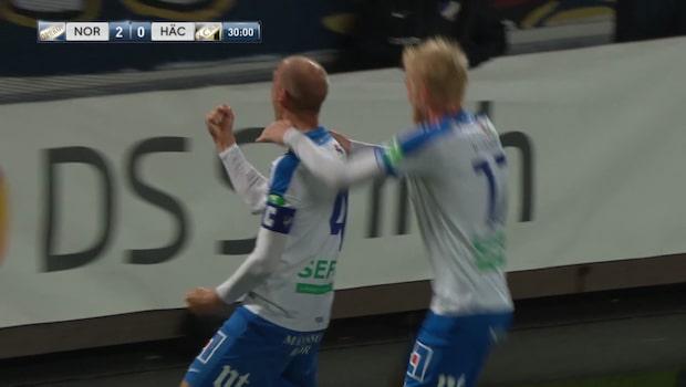 Johansson trycker in 2-0 för Norrköping