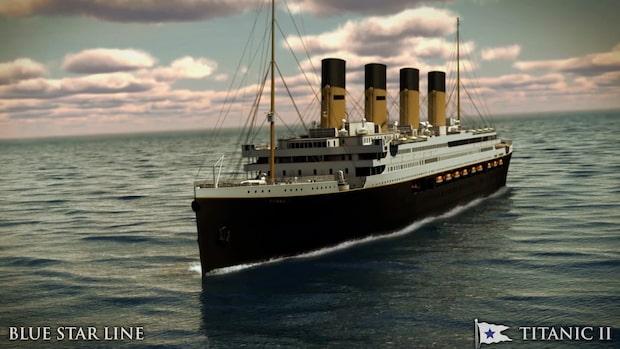 Titanic II gör sin jungfruresa — så kommer det se ut