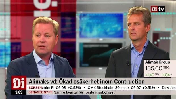 Lundstedt och Elgemyr om Alimak:s kvartalsrapport