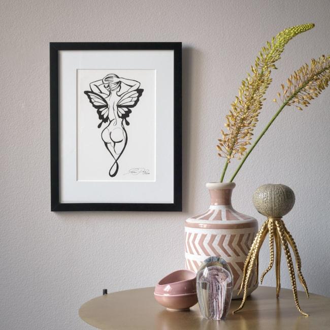 """Exklusivt gicléeprint! """"Hope"""" av konstnären Marie Plosjö. Upplagan är begränsad till 100 signerade och numrerade tavlor."""