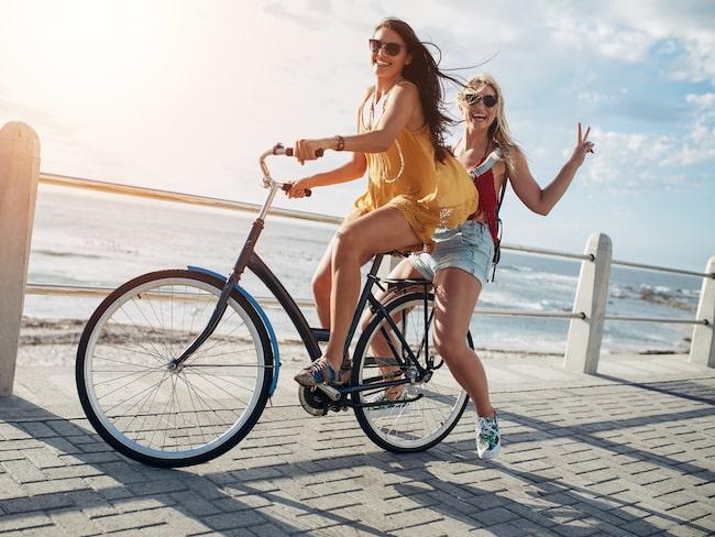 I sällkap med en vän är nyttigaste sättet att resa.