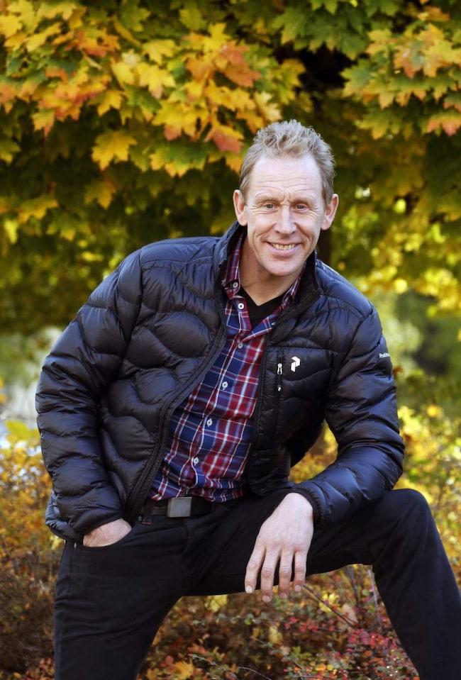 """Hittat tillbaka. Innan Gunde Svan fick diagnosen twar bestod dagarna av att vila, äta och ha kontakt med sjukvården. I dag är han återställd och tränar minst fem pass i veckan. """"Jag är beredd att investera i den tiden för att må bra"""", säger han."""