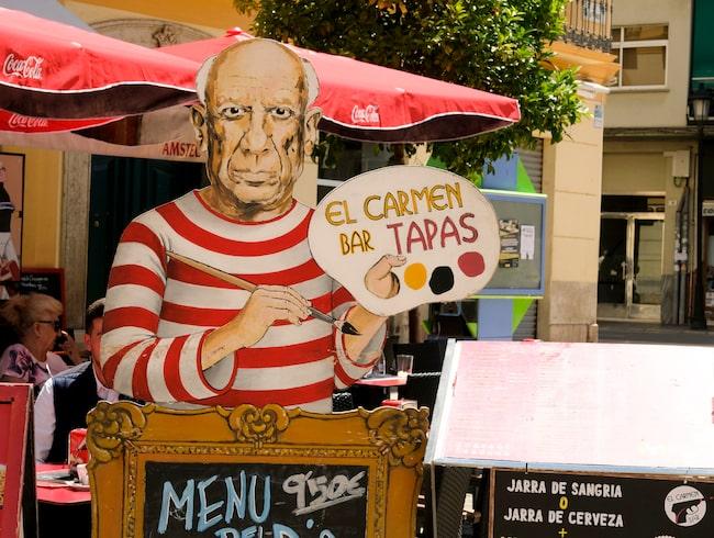 Det gäller att dra fördel av Picassos berömmelse...