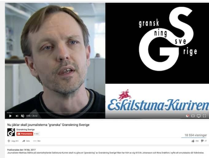 Det var i februari i år som Eskilstuna-kuriren avslöjade hur sajten Granskning Sverige sprider högerpopulistisk främlingsfientlighet genom att lura till sig intervjuer med bland annat journalister, politiker och opinionsbildare.