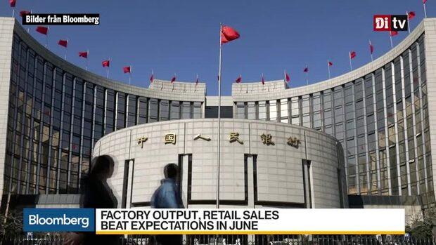 Världens affärer 10:30: Kinas ekonomi - lägsta på tre decennier