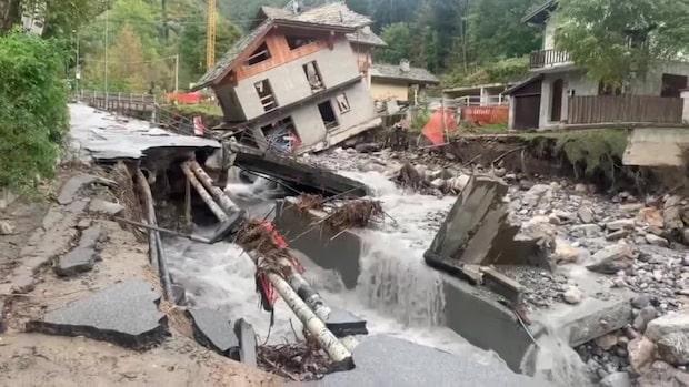 Stormen Alex: Minst sju döda i Italien