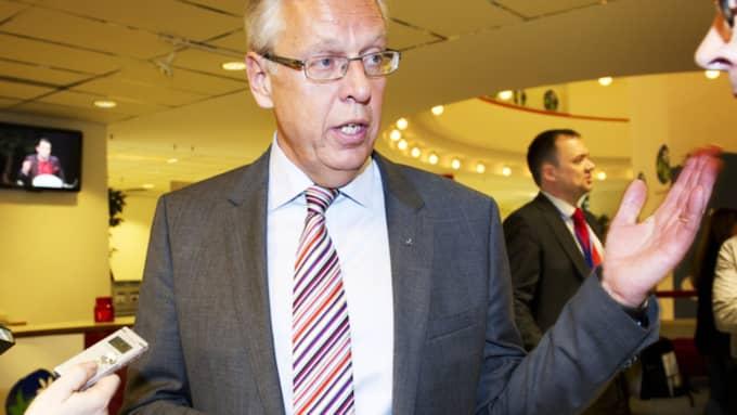 Nu berättar Hägglund om känslorna när vännen gav sig in i kampen. Foto: Olle Sporrong