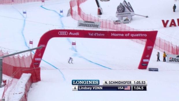 Lindsey Vonn vann damernas super-G