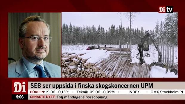 SEB:s köpcase: Ser uppsida i finska skogskoncernen UPM