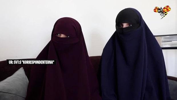 """IS-kvinnor inifrån lägret: """"Vi skäms inte"""""""