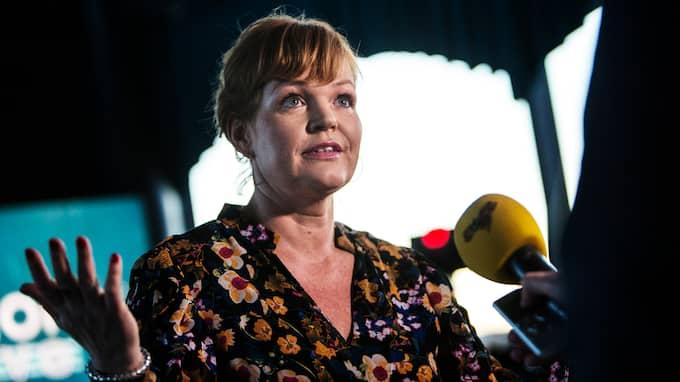 Belinda Olsson, programledare för SVT Opinion Live. Foto: HENRIK JANSSON/ GT/EXPRESSEN