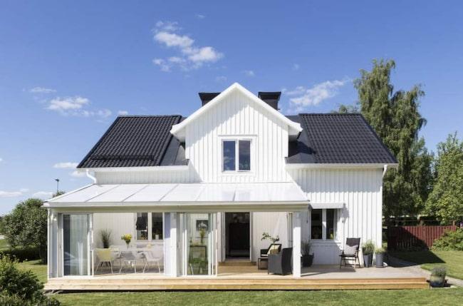 Saras och Palles fina 1800-talsvilla i Arboga.