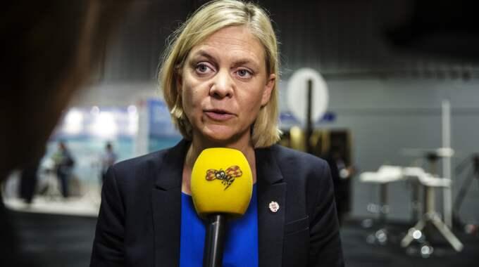 Finansminister Magdalena Andersson. Foto: Henrik Jansson / HENRIK JANSSON GT/EXPRESSEN