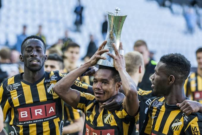 BK Häcken vann Svenska cupen 2016. Foto: CHRISTER THORELL/IBL