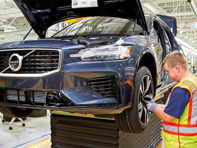 Volvo bygger nya S60 i nya fabriken i South Carolina.