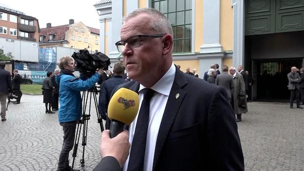 """Janne Andersson: """"Han stod för något bra"""""""