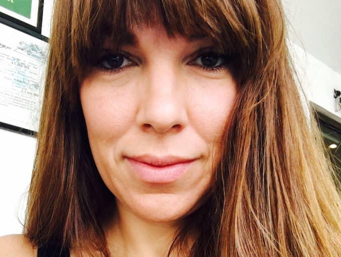 Journalisten Annika Leone. Foto: PRIVAT