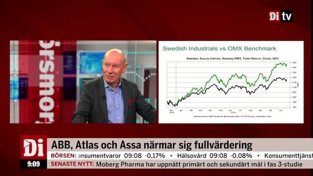 Söderfjell: Värderingarna i verkstadssektorn ser ansträngd ut - men klarar sig bra på börsen