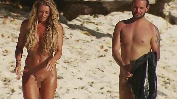 Inge De Bruijn dejtar naken i kontroversiellt program