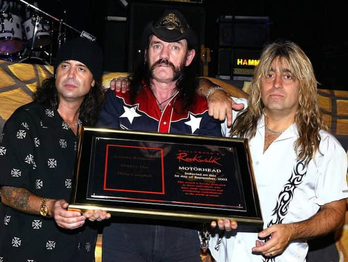 The news of his death was met with shock by fellow band mate Mikkey Dee, who has more bad news for any fans hoping to see the legendary rock outfit carry on without the bass guitar-wielding voice of Motörhead. Foto: Carlo Allegri