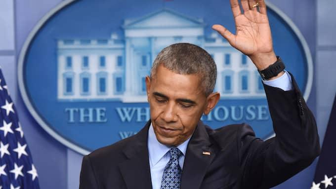 Barack Obama. Foto: YIN BOGU / STELLA PICTURES B950