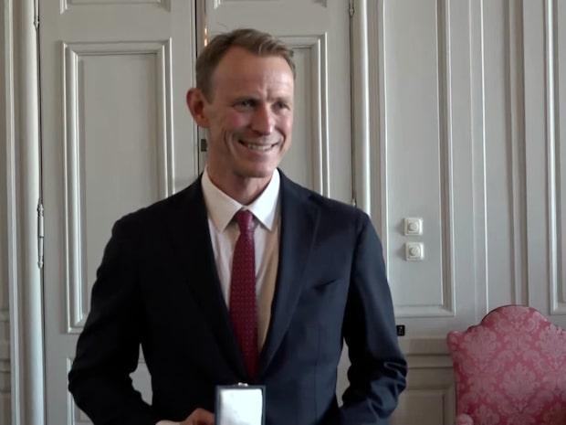 """Peder Fredricson fick kungens medalj: """"Kul och ärofyllt"""""""