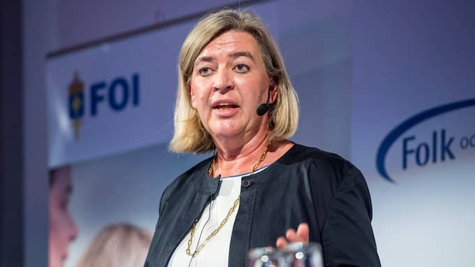 Tidigare generaldirektören vid MSB, Helena Lindberg. Foto: CHRISTIAN ÖRNBERG
