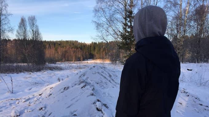 """""""Han var precis som vanligt, glad och tjötade på"""", säger en nära vän om den misstänkta mördarens sista dagar. Foto: Evelina Nedlund"""