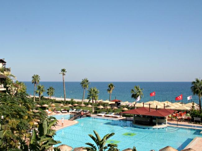 <span>Hotell Barut Labada i Kemer.</span>