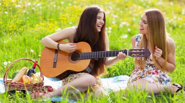 Att sjunga eller spela tillsammans kan jämföras med att få orgasm.