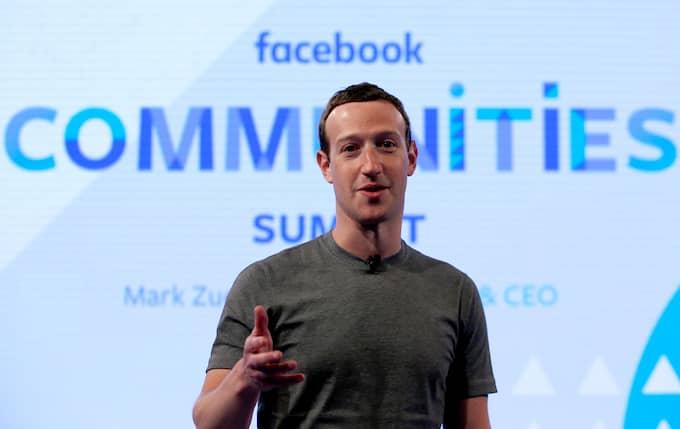 FEMMA PÅ LISTAN: Mark Zuckerberg. Foto: NAM Y. HUH / AP TT NYHETSBYRÅN