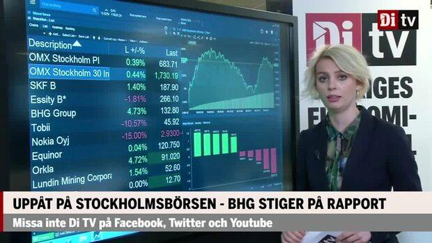 Marknaden: Uppåt på Stockholmsbörsen – BHG stiger på rapport