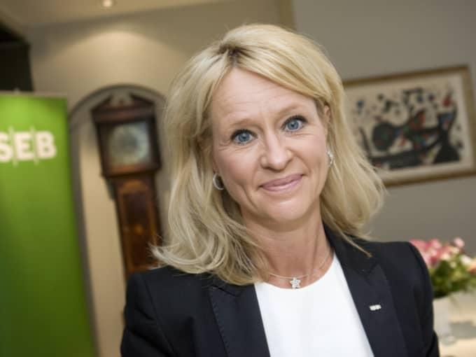Annika Falkengren, vd och koncernchef för SEB sedan 2005, tjänade nästan 25 miljoner i fjol. Foto: Jonathan Näckstrand