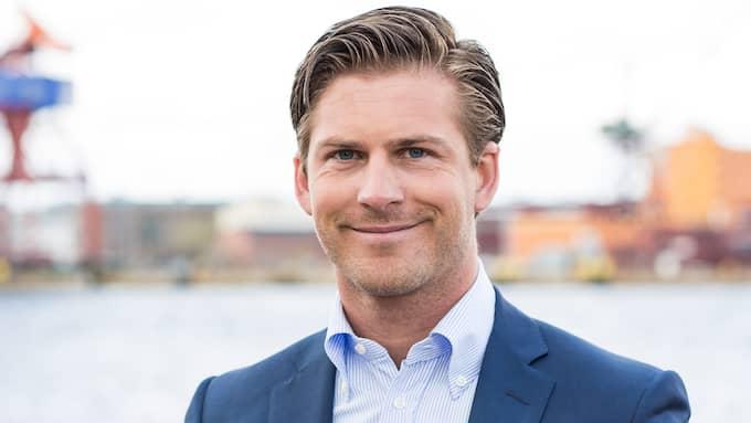 Hampus Magnusson (M) är kommunalråd i Göteborg.