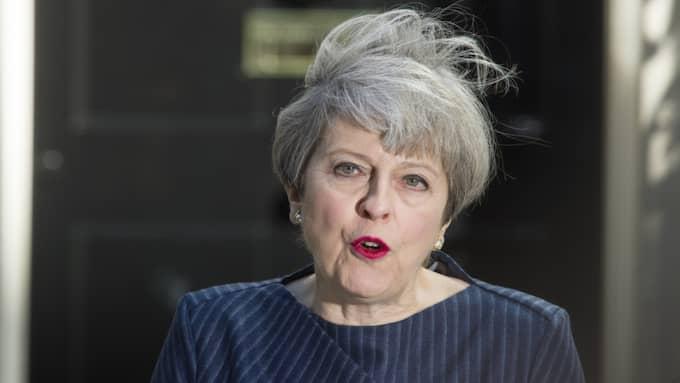 Theresa May meddelade på onsdagen oväntat att hon utlyser nyval i Storbritannien. Foto: / I-IMAGES / POLARIS POLARIS IMAGES