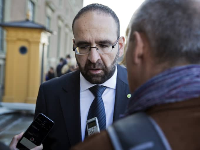 Mehmet Kaplan sparkades redan i söndags under ett hemligt möte. Foto: Lisa Mattisson Exp / LISA MATTISSON EXP