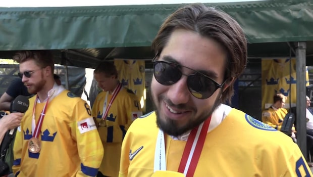 Zibanejad skänker sin VM-bonus till välgörenhet